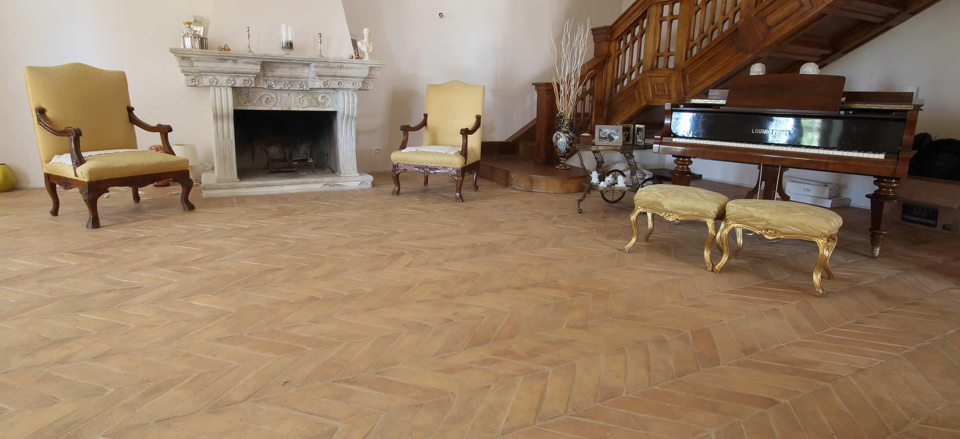Pavimenti In Cotto Per Interni pavimenti in cotto fatto a mano per interni/esterni stefani